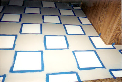 The old house in texas how to paint vinyl floors has been for The best paint to use on vinyl floors