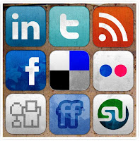 This is a picture of Social Media icons.