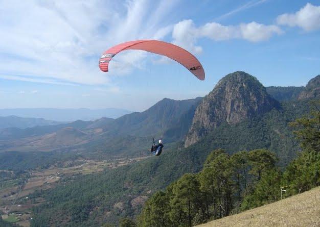 Practica de Parapente en Temascaltepec