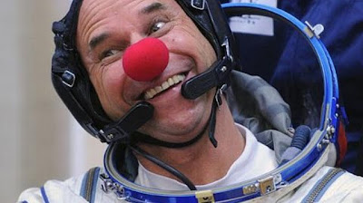 Killer clown in outer space!