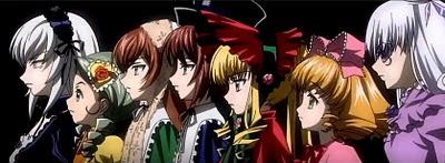 Rozen Maiden Las siete hermanas
