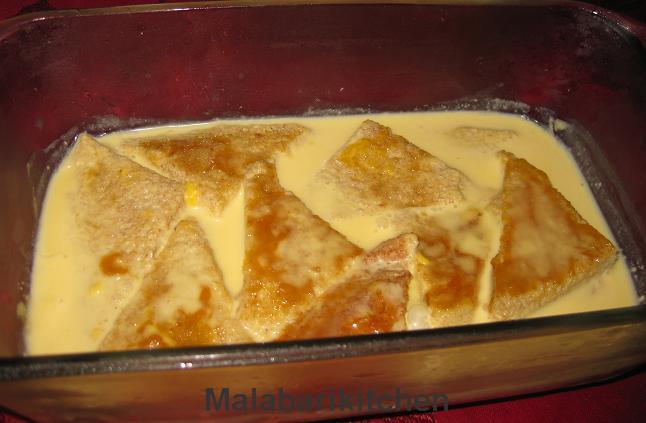 Malabarikitchen: Mango bread pudding