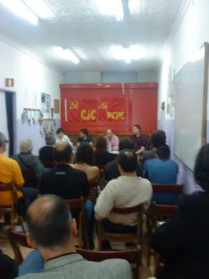 Presentación de la Revista Comunista Internacional en Madrid DSC00178