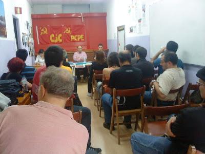 Presentación de la Revista Comunista Internacional en Madrid DSC00179