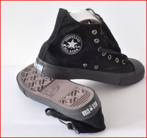 SanRay Shop  sepatu converse hitam panjang (ready stock).. hanya Rp ... d3835af195