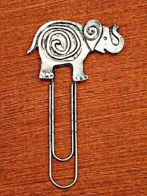 Elefántos könyvjelzők