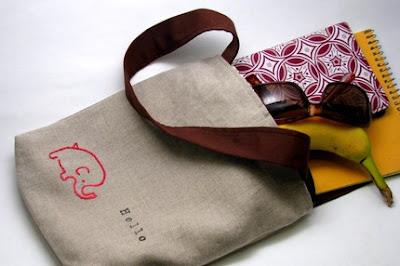 Elefántos táska minimálban