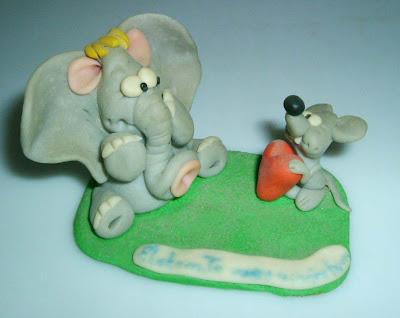Egérke és a kiselefánt