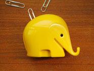 Színes elefánt gémkapocstartó