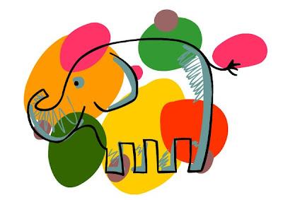 Csupaszín elefánt