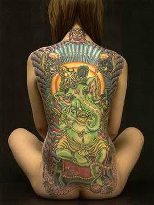 Ganesha tetoválás