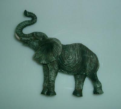 Megint egy elefántos hűtőmágnes