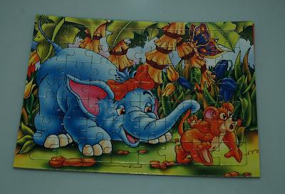 Elefántos puzzle