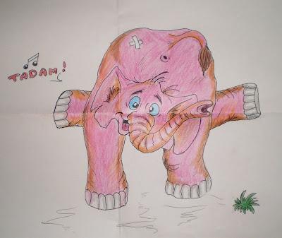 Egy elefántos rajz, Nekem