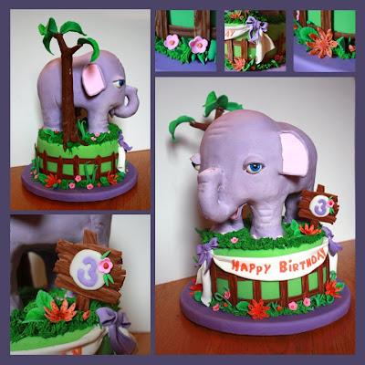 Elefánt torta