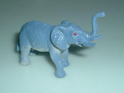 Szafari elefánt