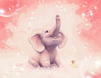 Bubble elephant