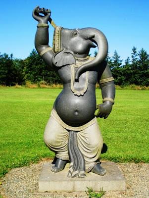 Ganesha feketében