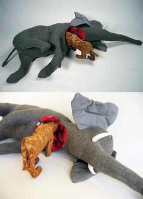 Szegény elefánt :(