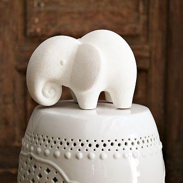 Kerámia elefánt