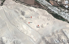 Caral en Google Earth