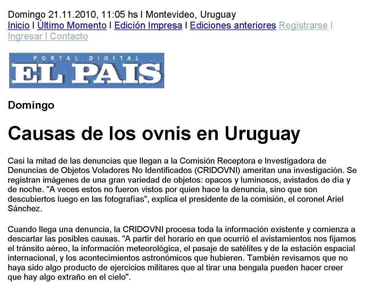 diario el pais uruguayo: