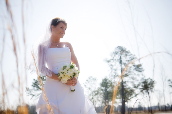 bride wedding day photography in dunn nc by studio 310