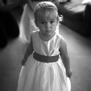 short black and white bridesmaid. Black And White Photography :)