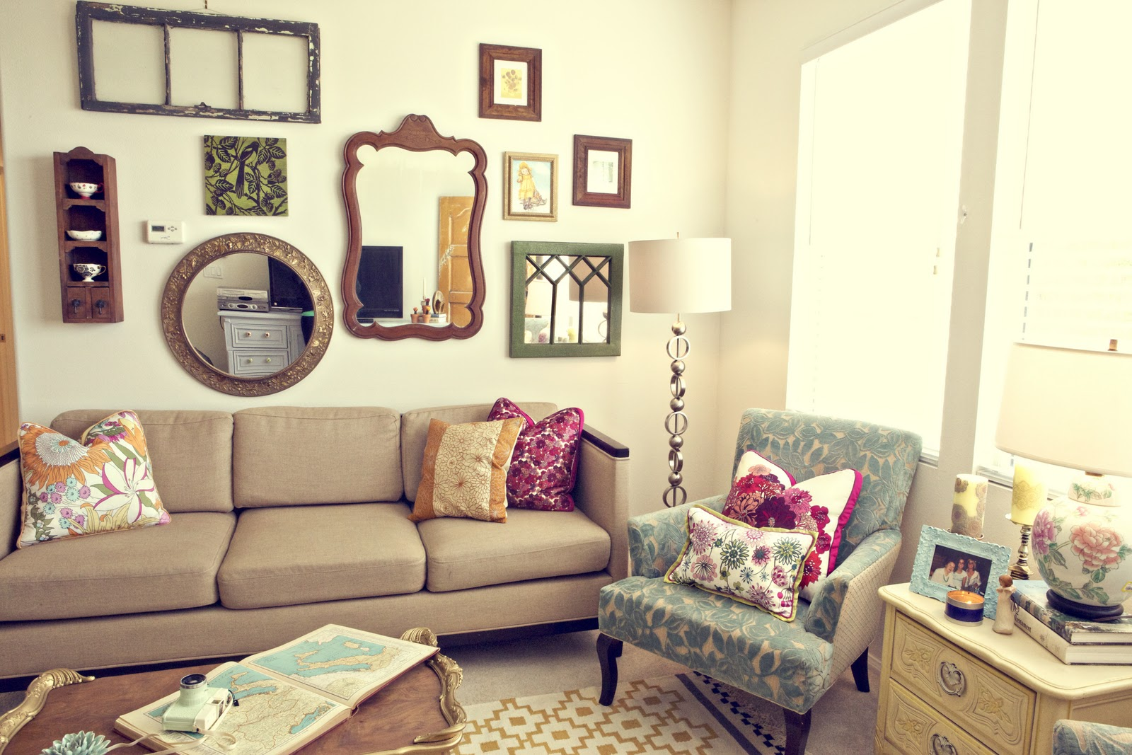 Love and Photographs: Apartment Tour: Living Room