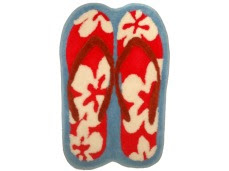 hawaiian style rugs - slippers