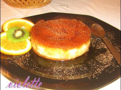Crema de zahara ars cu portocale