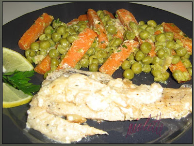 File de merlucius cu legume