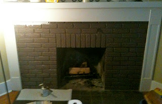 Fireplace before - Chocolate or Vanilla?