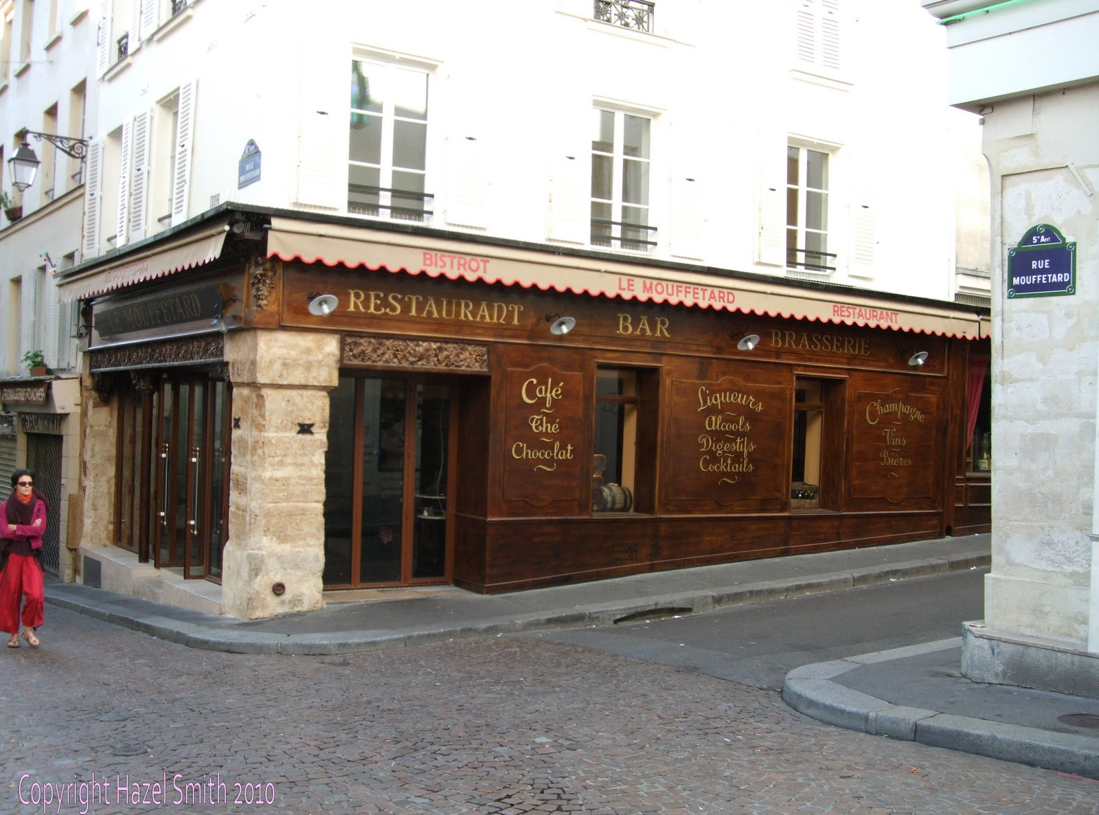 Smartypants Goes to France: Dinner on the Rue Mouffetard