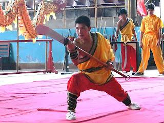ecole de kung fu a Yangshuo