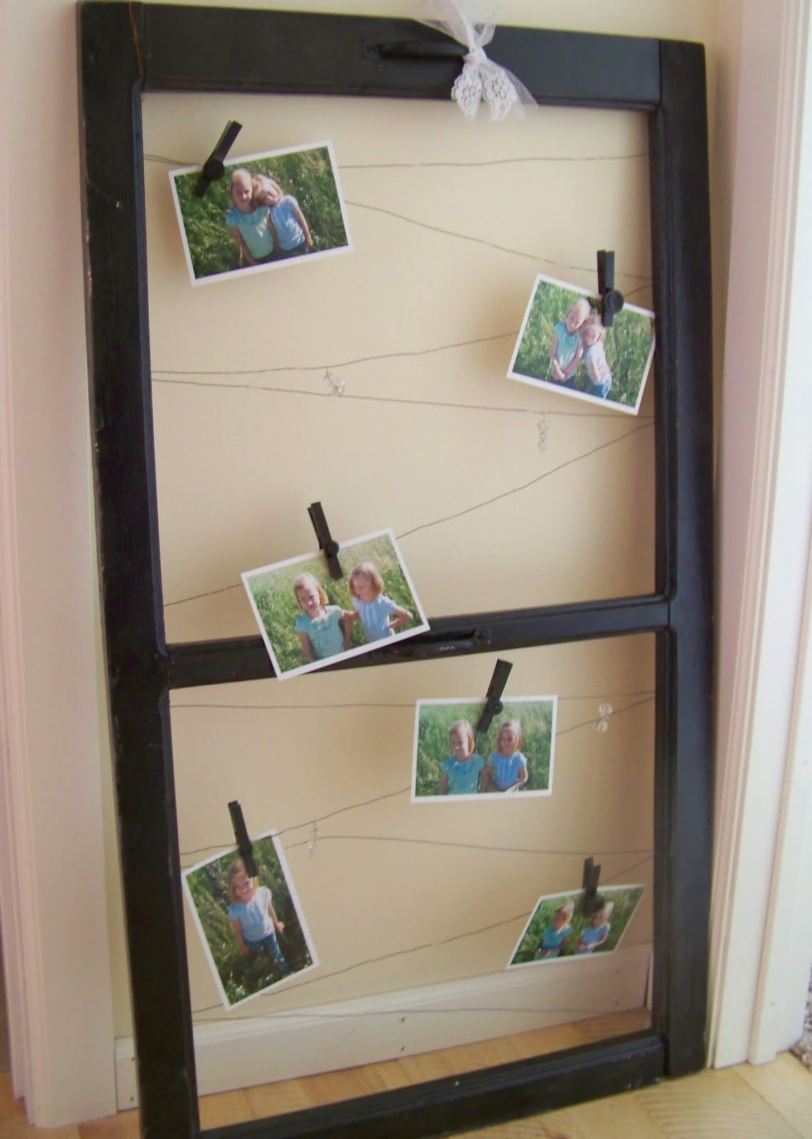 Using old window frames to decorate (she:jami) - Or so she says...