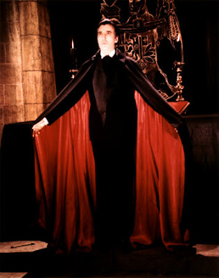 Drácula. Christopher Lee.