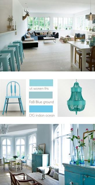 Donderdag-kleuradvies: turquoise
