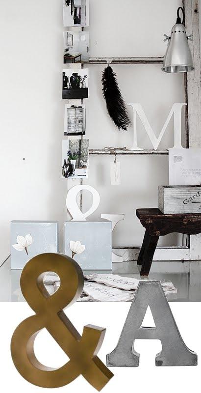 Zeg het met letters villa d 39 esta interieur en wonen - Decoratie van de villas ...