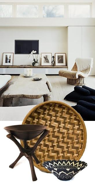 Een vleugje afrika in je huis villa d 39 esta interieur en wonen - Etnische sfeer ...
