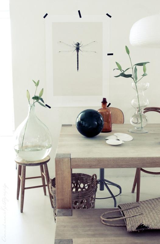 Natuurlijk decoreren villa d 39 esta interieur en wonen - Deco giet keuken ...