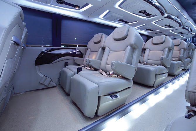 Luxuria Business Class Travel On Wheels