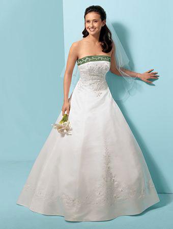 Wedding Dress Idea of the Day: Splash of Colour!