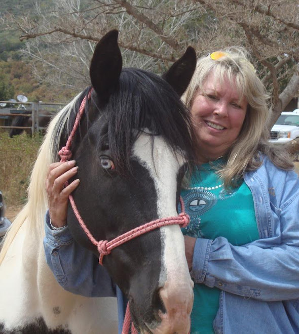 FalconRidge Supporter Cindy today with Cochise
