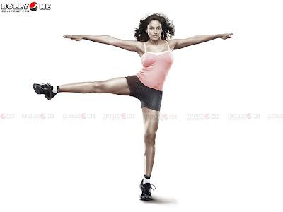 Bipasha Basu poses for Reebok5