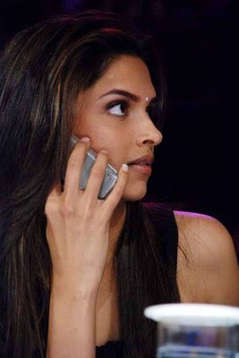 Deepika padukone in Black Dress33