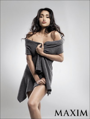 Jiah Khan sexiest photo shoot for Maxim