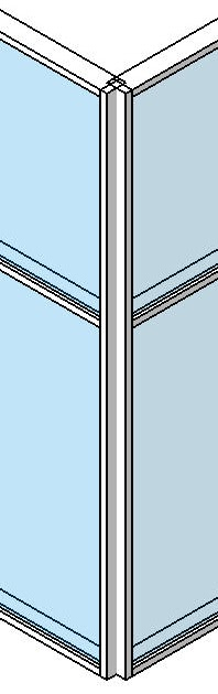 Glass Glazing Mullion : Revit in plain english curtain wall glass corner no