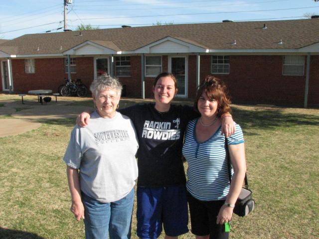 Nanny, Ashley and I.