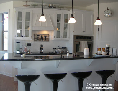 Cottage Elements: Doesn't Matter if it's Black or White . . .